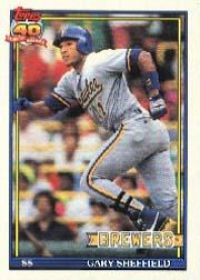 1991 O-Pee-Chee #68 Gary Sheffield