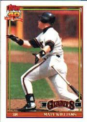 1991 O-Pee-Chee #190 Matt Williams