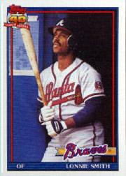 1991 O-Pee-Chee #306 Lonnie Smith