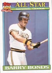 1991 O-Pee-Chee #401 Barry Bonds AS front image