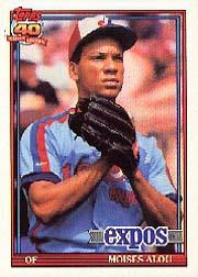 1991 O-Pee-Chee #526 Moises Alou