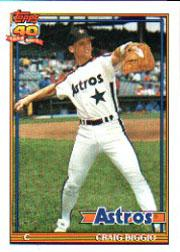 1991 O-Pee-Chee #565 Craig Biggio