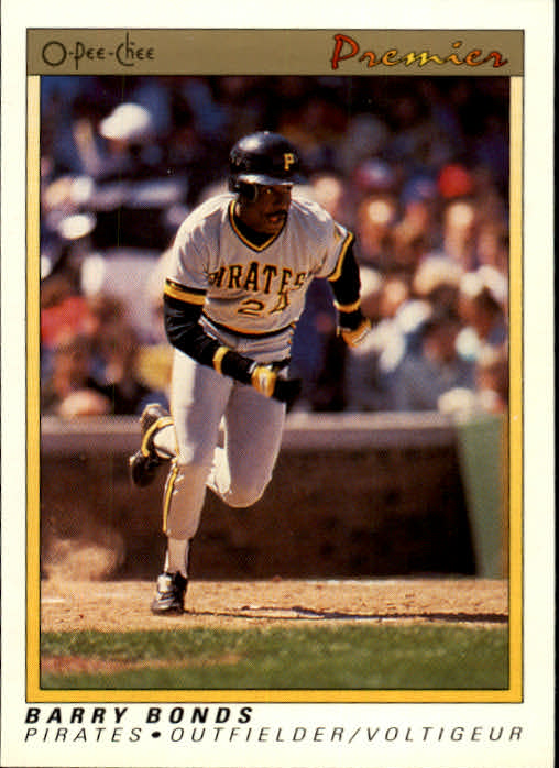 1991 O-Pee-Chee Premier #12 Barry Bonds