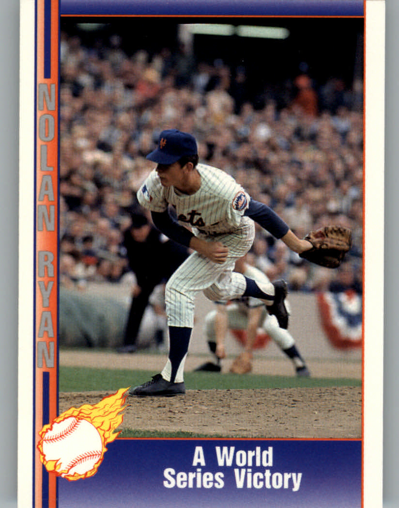 1991 Pacific Ryan Texas Express I #13 Nolan Ryan/World Series Victory