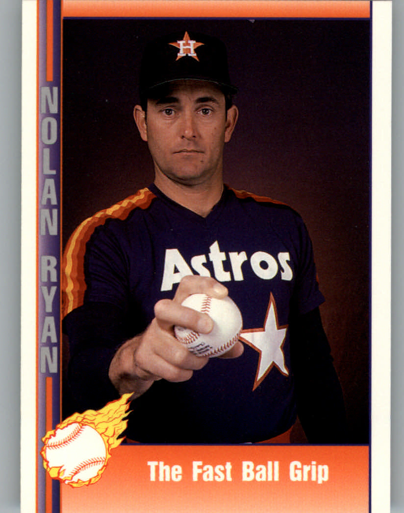 1991 Pacific Ryan Texas Express I #41 Nolan Ryan/The Fast Ball Grip