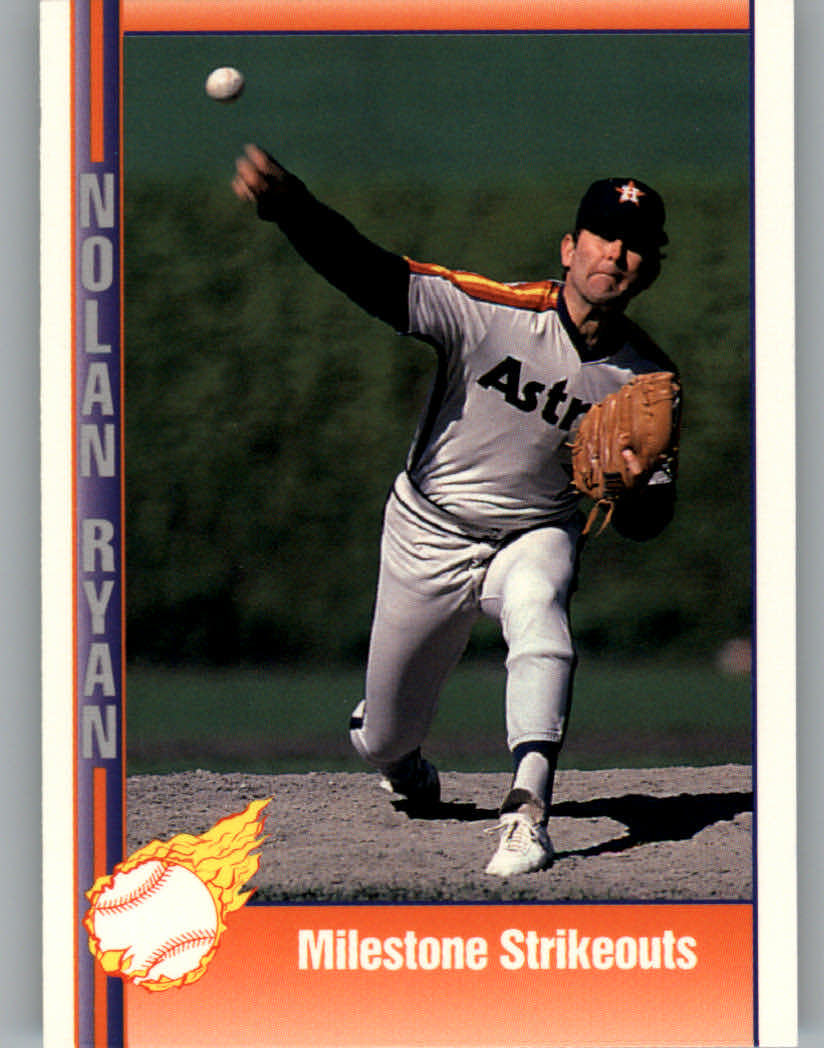 1991 Pacific Ryan Texas Express I #49 Nolan Ryan/Milestone Strikeouts
