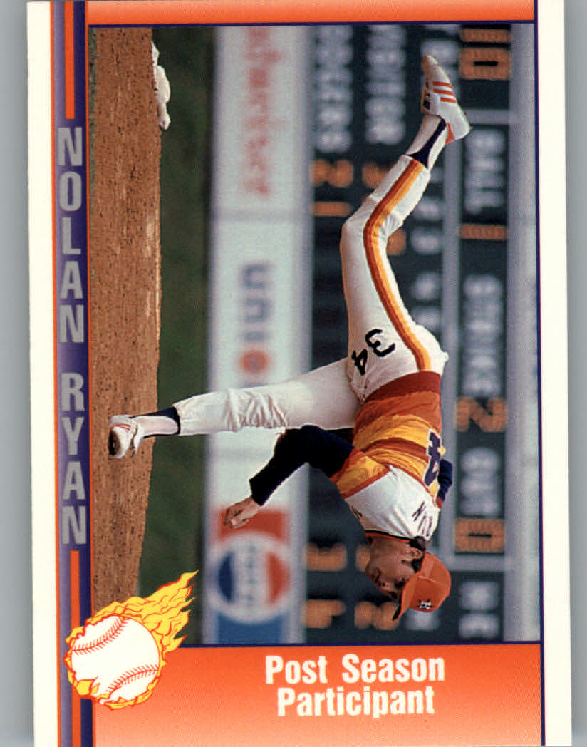 1991 Pacific Ryan Texas Express I #50 Nolan Ryan/Post Season Participant