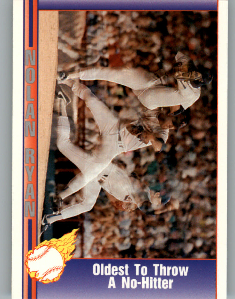 1991 Pacific Ryan Texas Express I #65 Nolan Ryan/Oldest To Throw No-Hitter