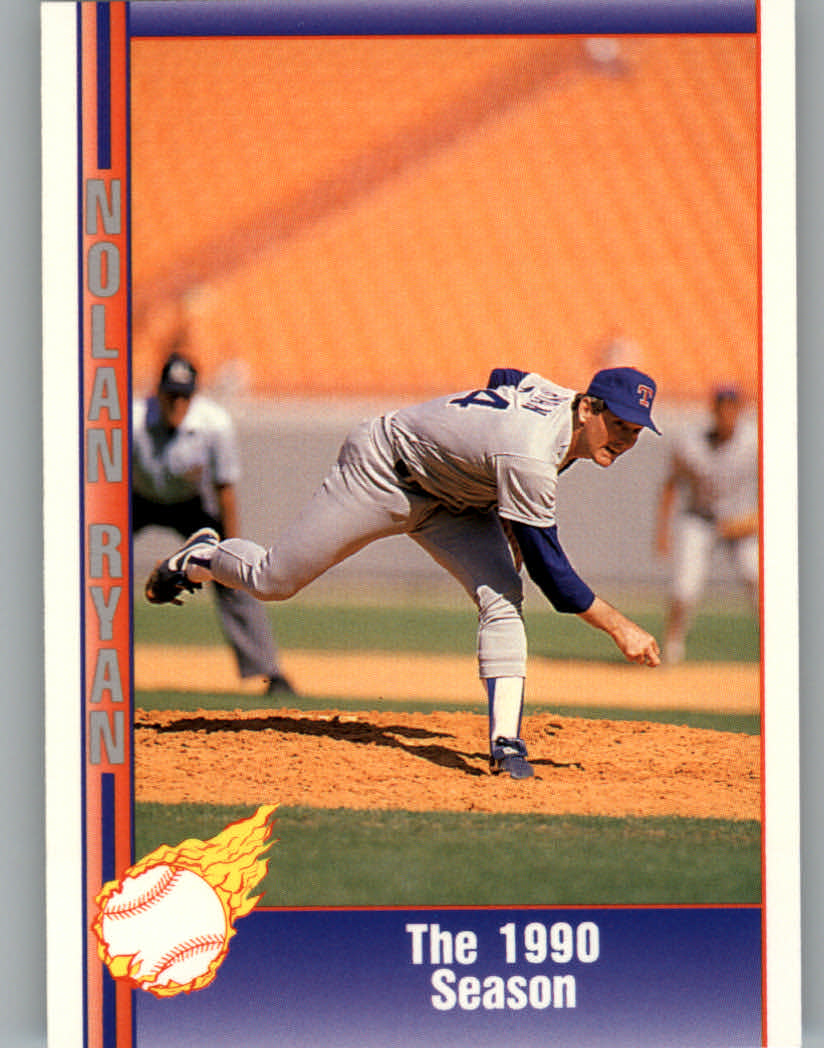 1991 Pacific Ryan Texas Express I #74 Nolan Ryan/The 1990 Season