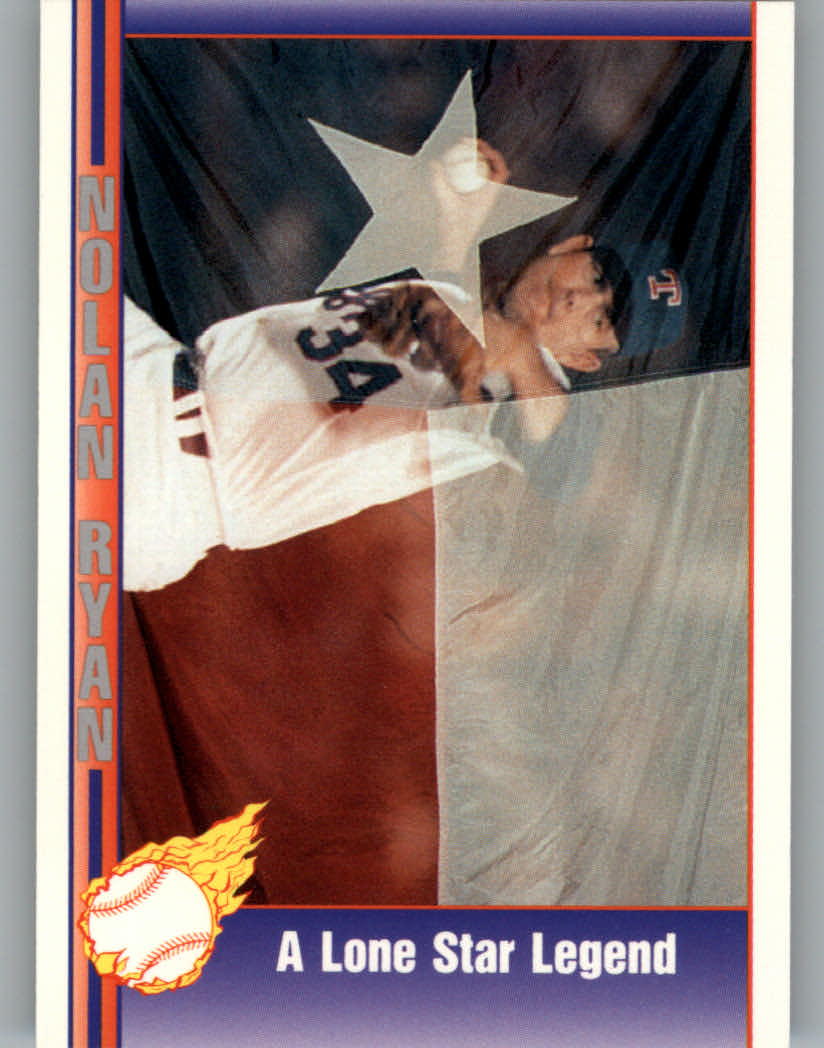 1991 Pacific Ryan Texas Express I #100 Nolan Ryan/A Lone Star Legend