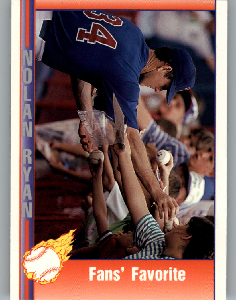 1991 Pacific Ryan Texas Express I #101 Nolan Ryan/Fans' Favorite