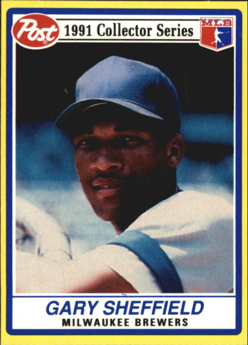 1991 Post #15 Gary Sheffield