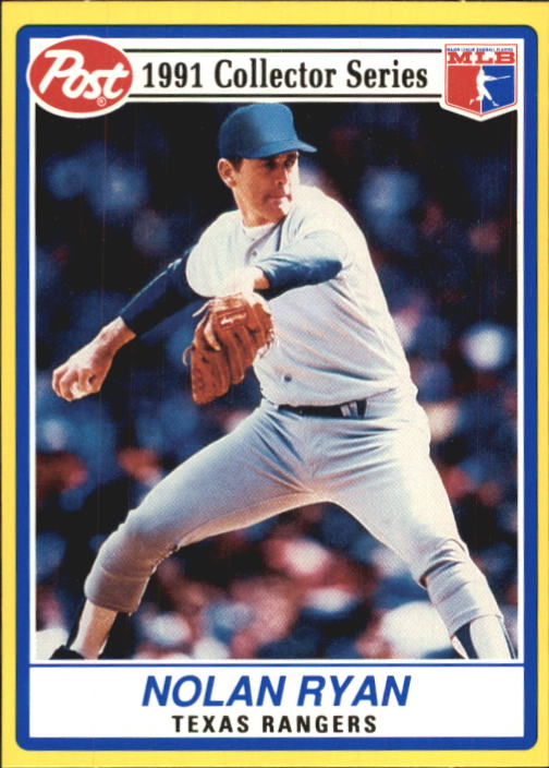 1991 Post #17 Nolan Ryan