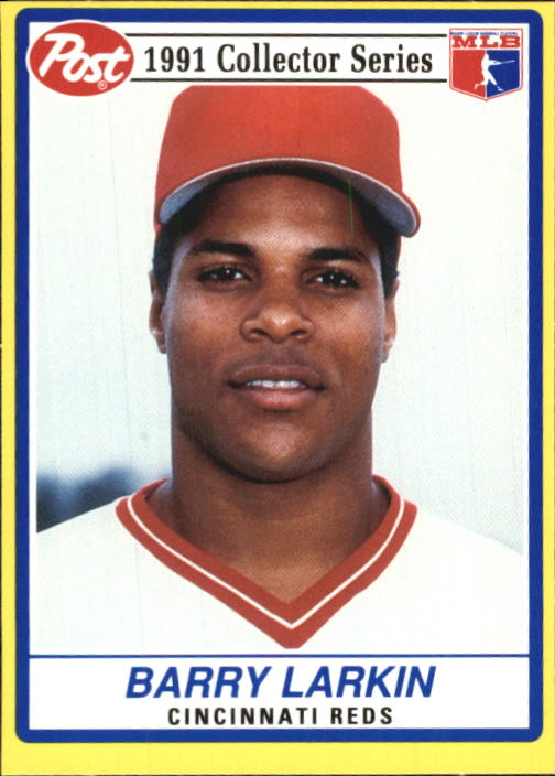 1991 Post #18 Barry Larkin