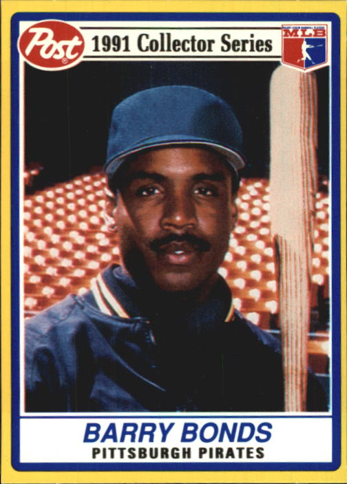 1991 Post #21 Barry Bonds