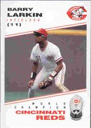 1991 Reds Kahn's #11 Barry Larkin