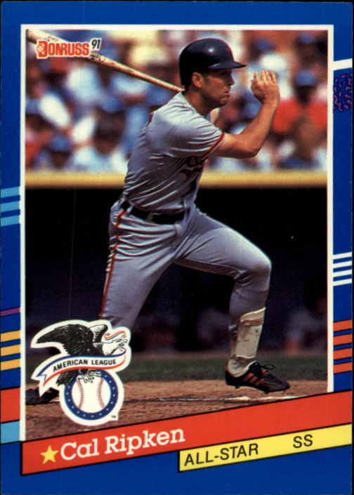 1991 Donruss #52 Cal Ripken AS