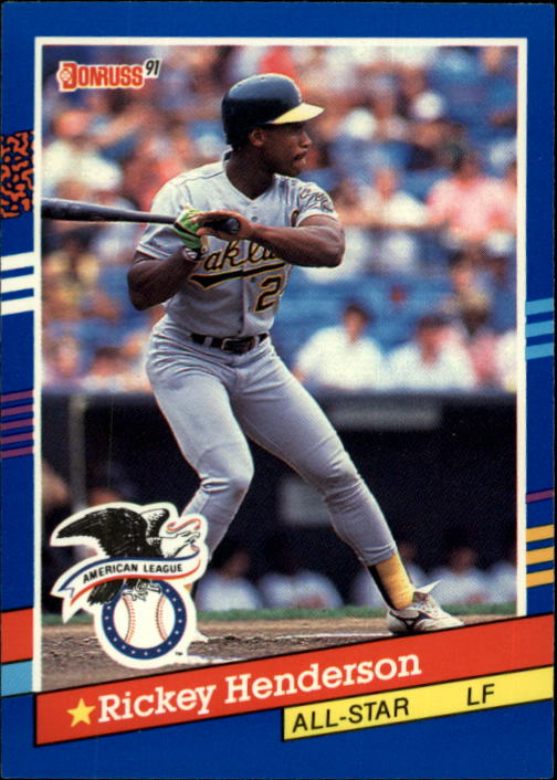 1991 Donruss #53 Rickey Henderson AS