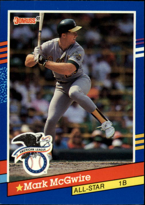 1991 Donruss #56 Mark McGwire AS