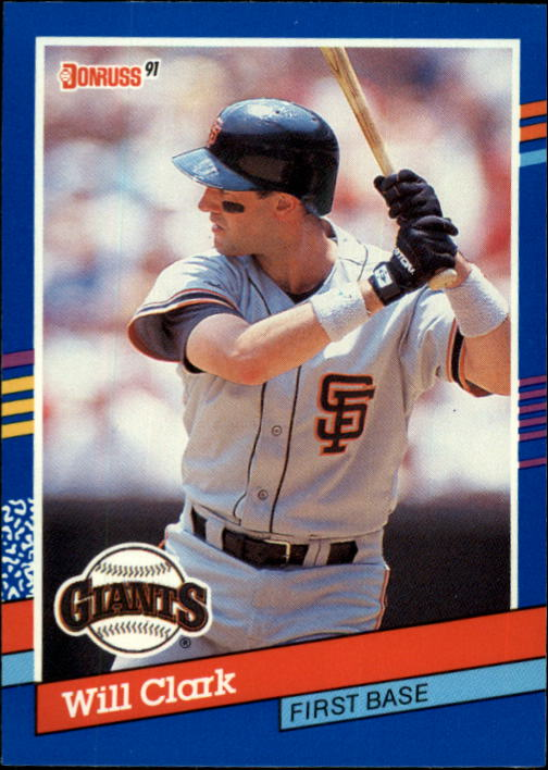 1991 Donruss #86 Will Clark