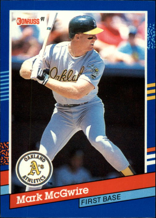 1991 Donruss #105 Mark McGwire