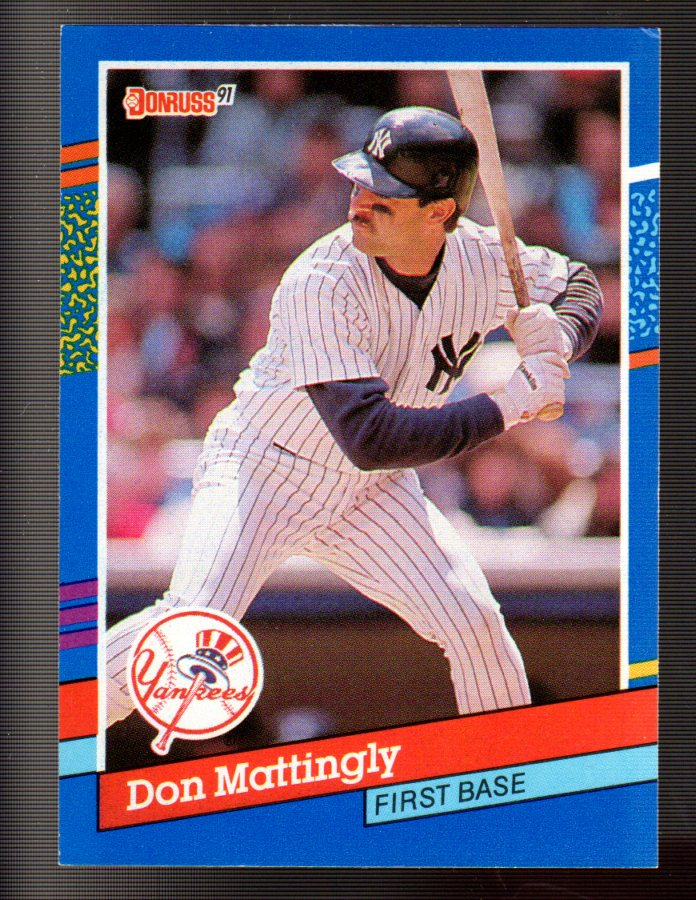 1991 Donruss #107 Don Mattingly