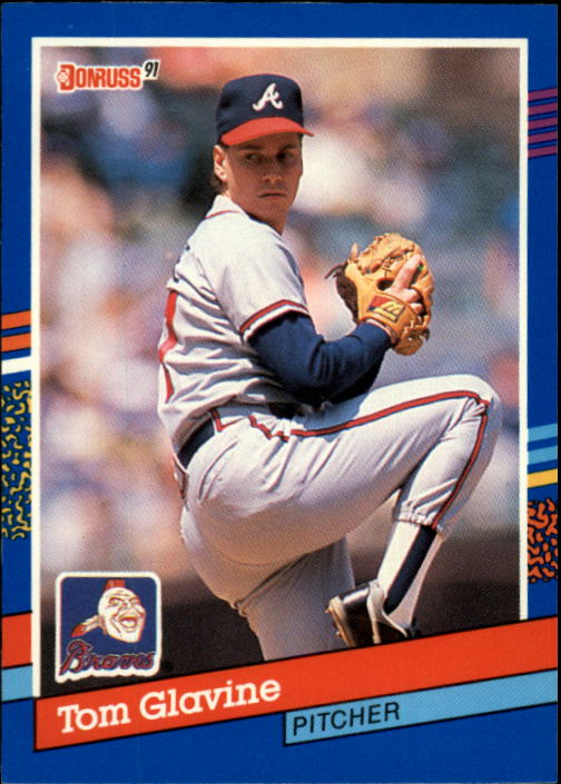 1991 Donruss #132 Tom Glavine