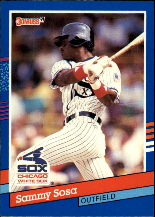 1991 Donruss #147 Sammy Sosa