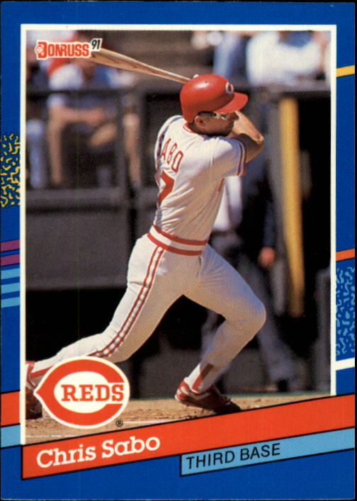 1991 Donruss #153 Chris Sabo