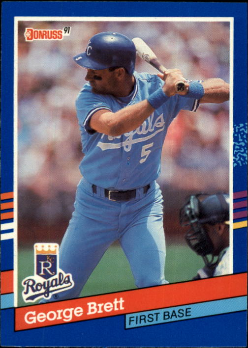 1991 Donruss #201 George Brett