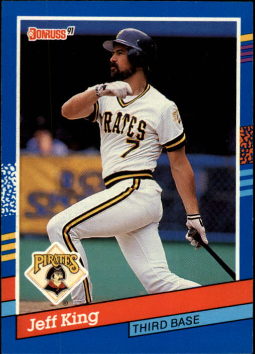 1991 Donruss #233 Jeff King