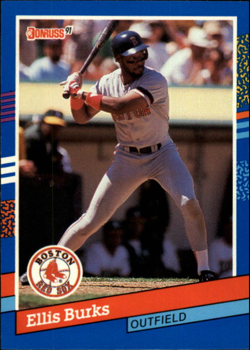 1991 Donruss #235 Ellis Burks