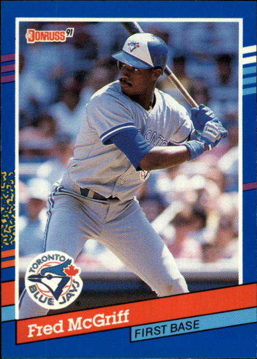 1991 Donruss #261 Fred McGriff