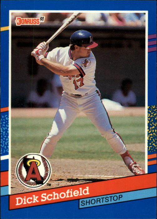 1991 Donruss #262 Dick Schofield