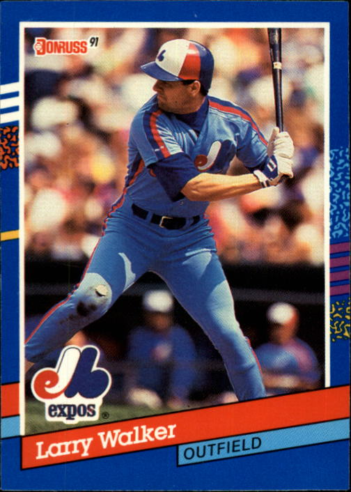 1991 Donruss #359 Larry Walker