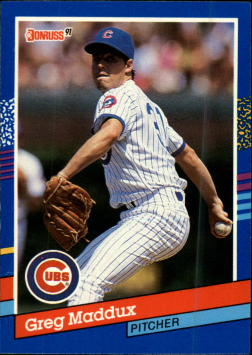 1991 Donruss #374 Greg Maddux