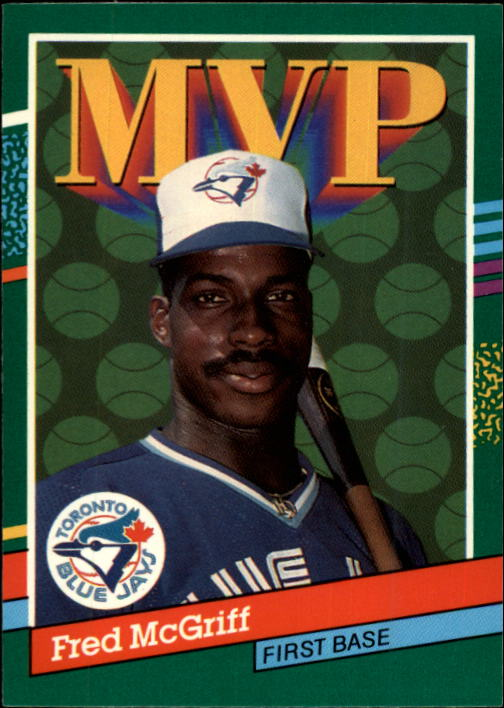 1991 Donruss #389 Fred McGriff MVP