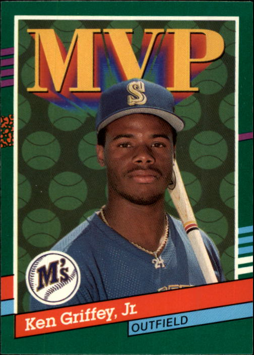 1991 Donruss #392 Ken Griffey Jr. MVP