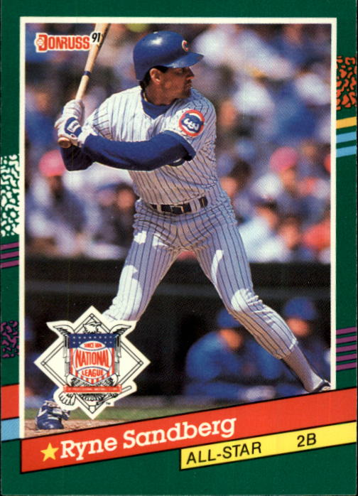 1991 Donruss #433 Ryne Sandberg AS
