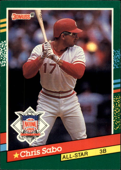 1991 Donruss #440 Chris Sabo AS