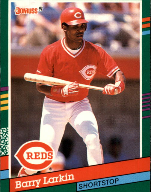 1991 Donruss #471 Barry Larkin