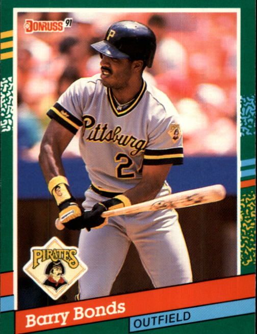 1991 Donruss #495 Barry Bonds