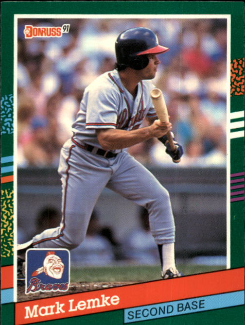 1991 Donruss #604 Mark Lemke