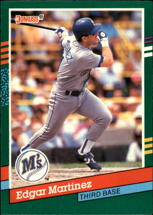 1991 Donruss #606 Edgar Martinez