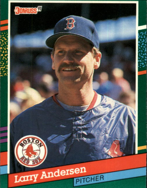 1991 Donruss #665 Larry Andersen