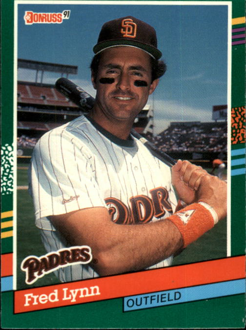 1991 Donruss #673 Fred Lynn