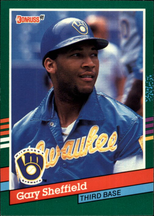 1991 Donruss #751 Gary Sheffield
