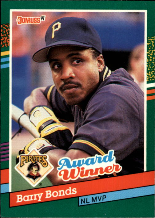 1991 Donruss #762 Barry Bonds MVP