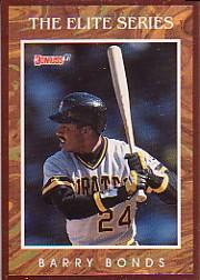 1991 Donruss Elite #1 Barry Bonds