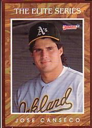 1991 Donruss Elite #3 Jose Canseco